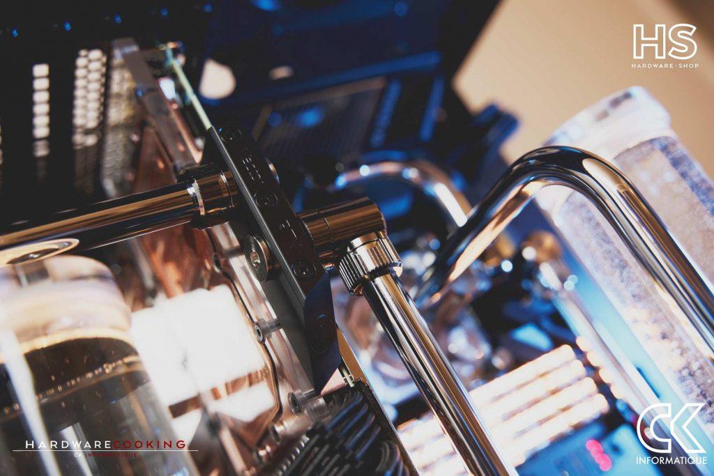 Build DPS watercooling EKWB Kinetic