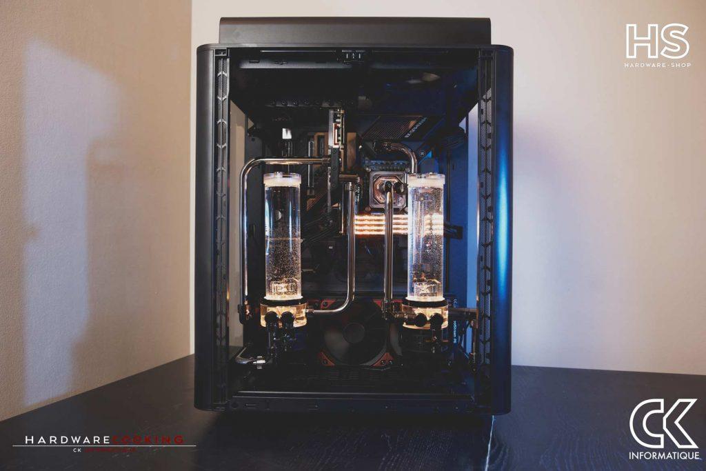 Build DPS watercooling custom Hardwarecooking CK Informatique Thermaltake Level 20 HT