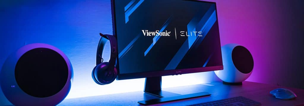 Ecran ViewSonic QHD consoles next gen