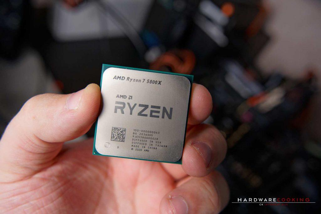 Test AMD Ryzen 7 5800X