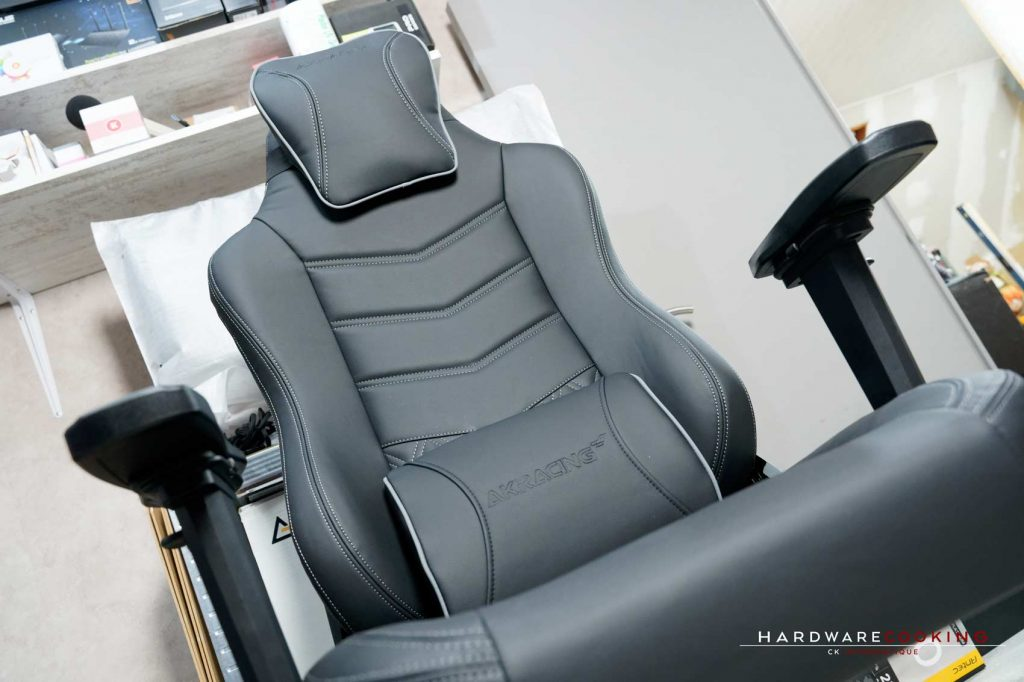test fauteuil AKRacing Onyx