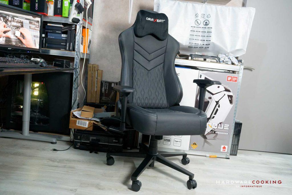 Test fauteuil Oraxeat MX850