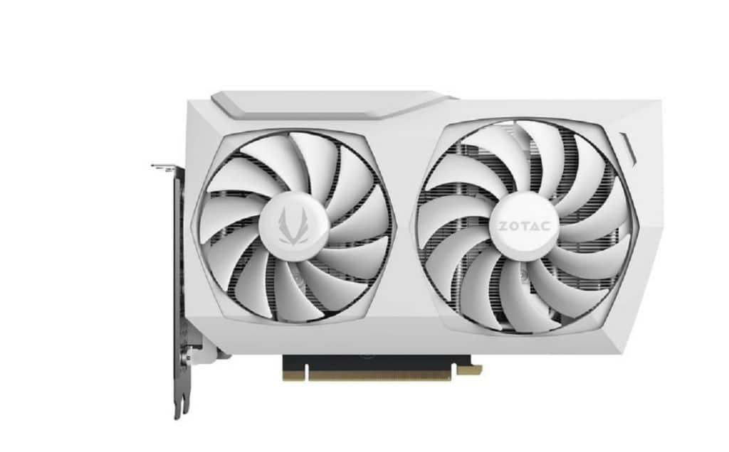 ZOTAC GAMING GeForce RTX 3070 Twin Edge OC White Edition