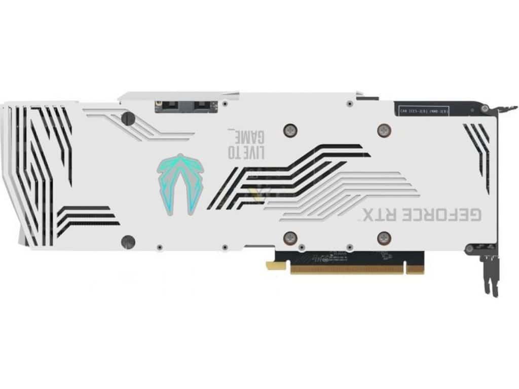 ZOTAC GeForce RTX 3080 10GB Trinity OC White Edition