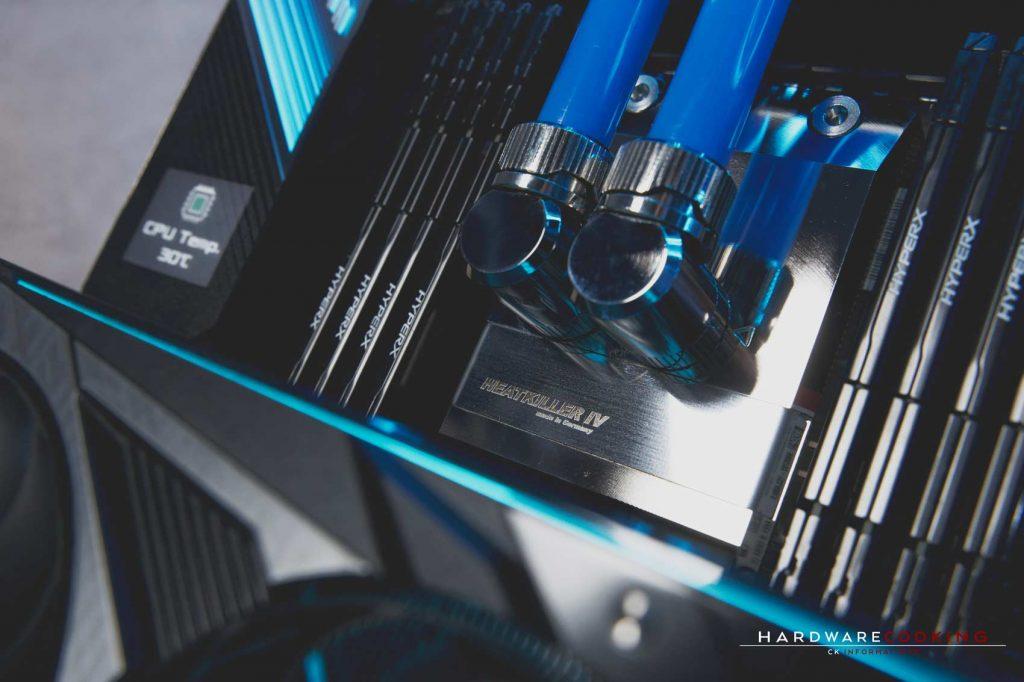 Waterblock CPU Heatkiller IV PRO pour Threadripper