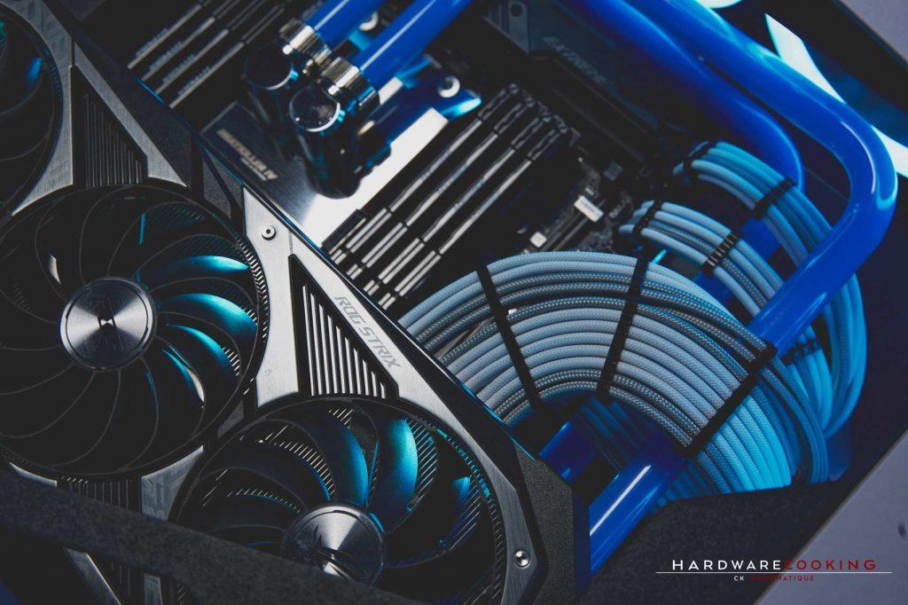 Build Hardwarecooking ROG TORQUE RTX 3090 et Threadripper 3960X