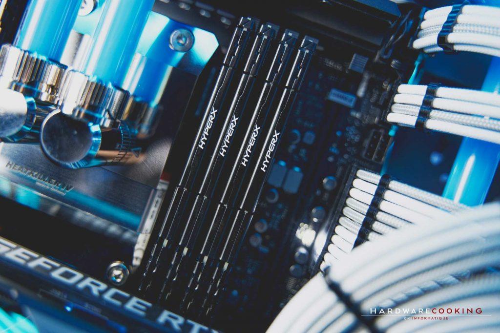 Kit DDR4 Kingston HyperX Fury