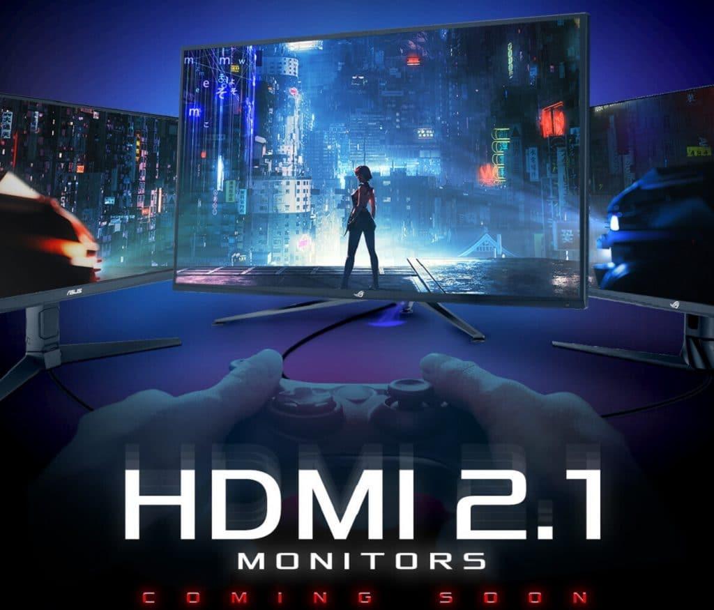 Moniteur ASUS ROG HDMI 2.1