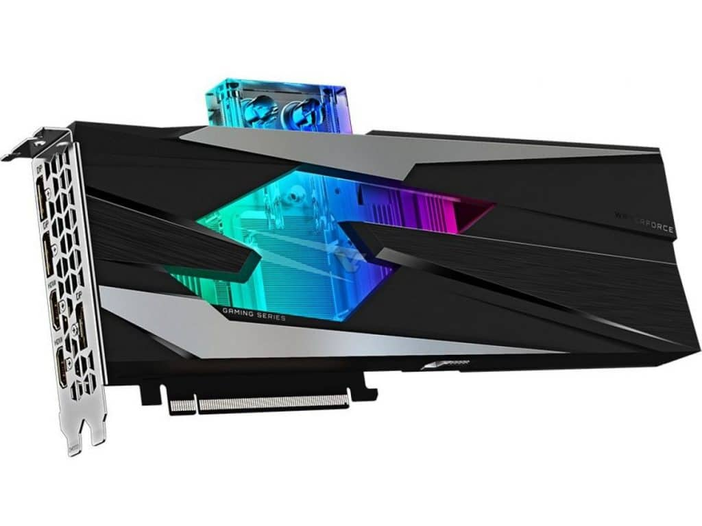 Gigabyte RTX 3080 Gaming OC WaterForce WB