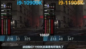 Intel i9-11900K Wolfenstein Youngblood