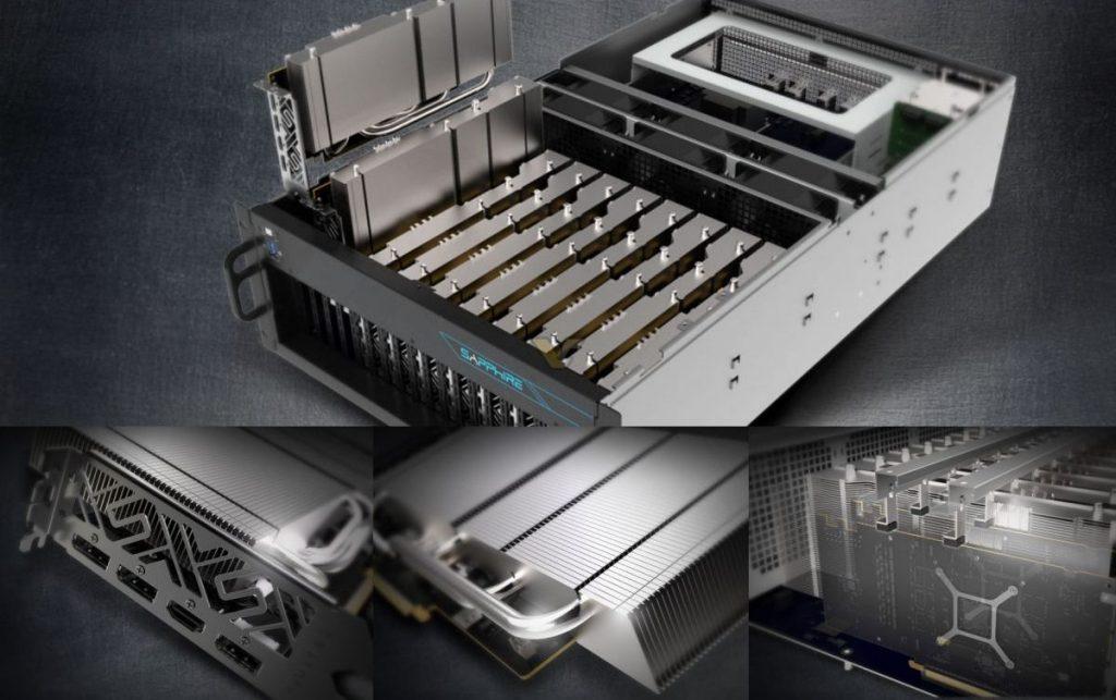 Sapphire RX 5700 serveur