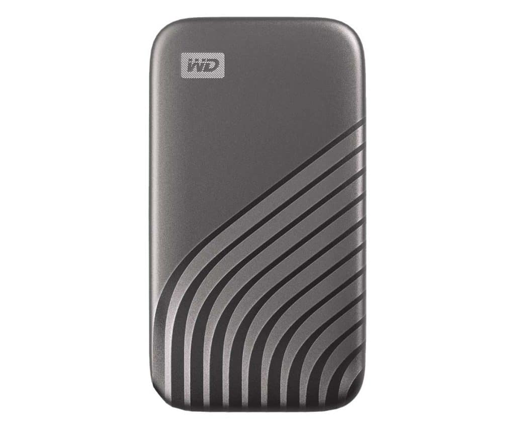 SSD WD My Passeport Space Grey