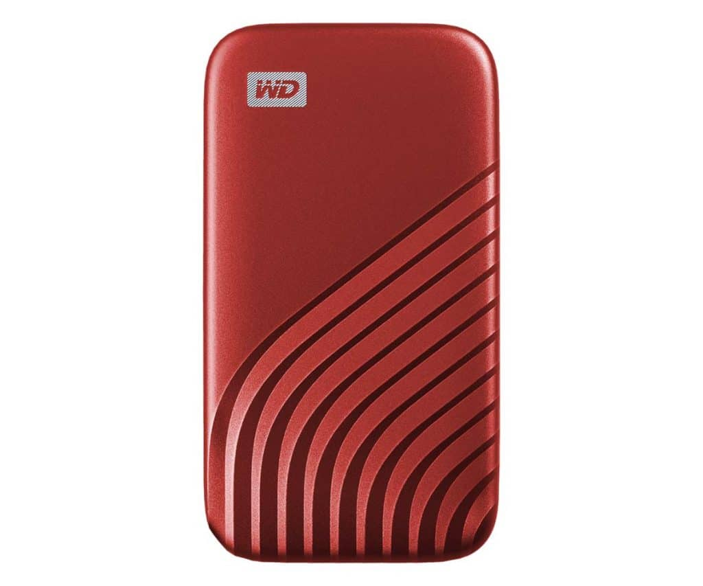 SSD WD My Passeport Red
