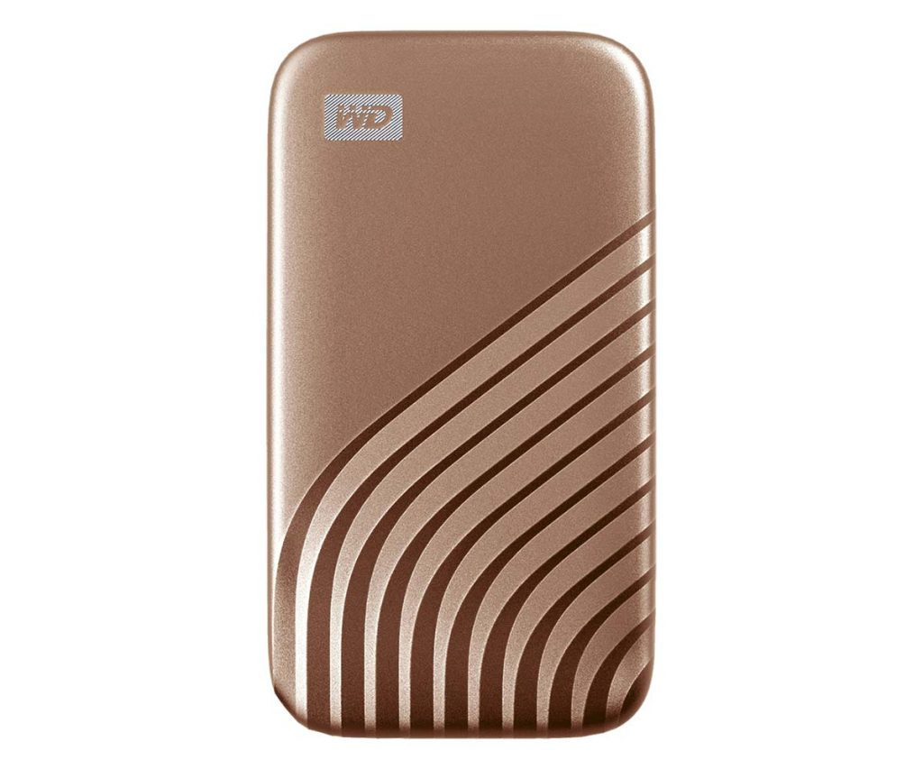 SSD WD My Passeport Rose Gold