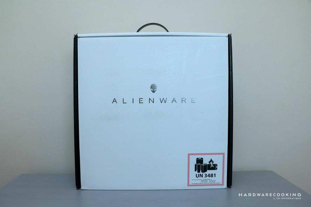 Boîte Alienware Area-51M R2