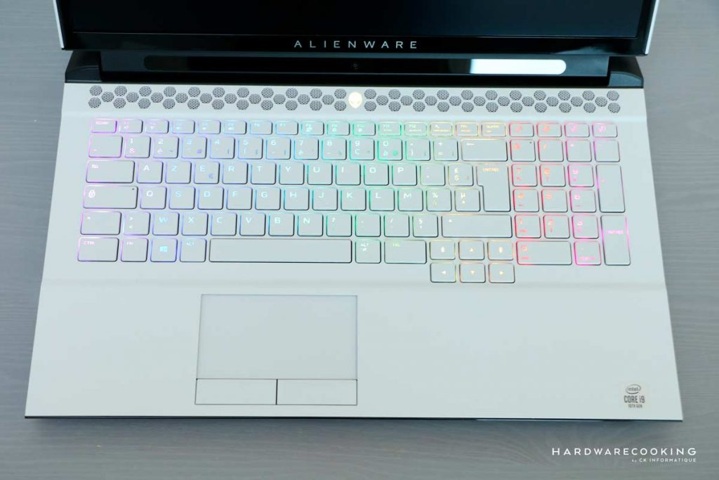 clavier Alienware Area-51M R2