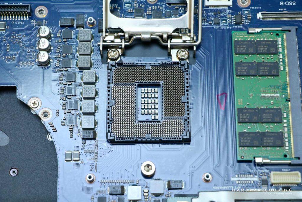 changement CPU socket Alienware Area-51M R2