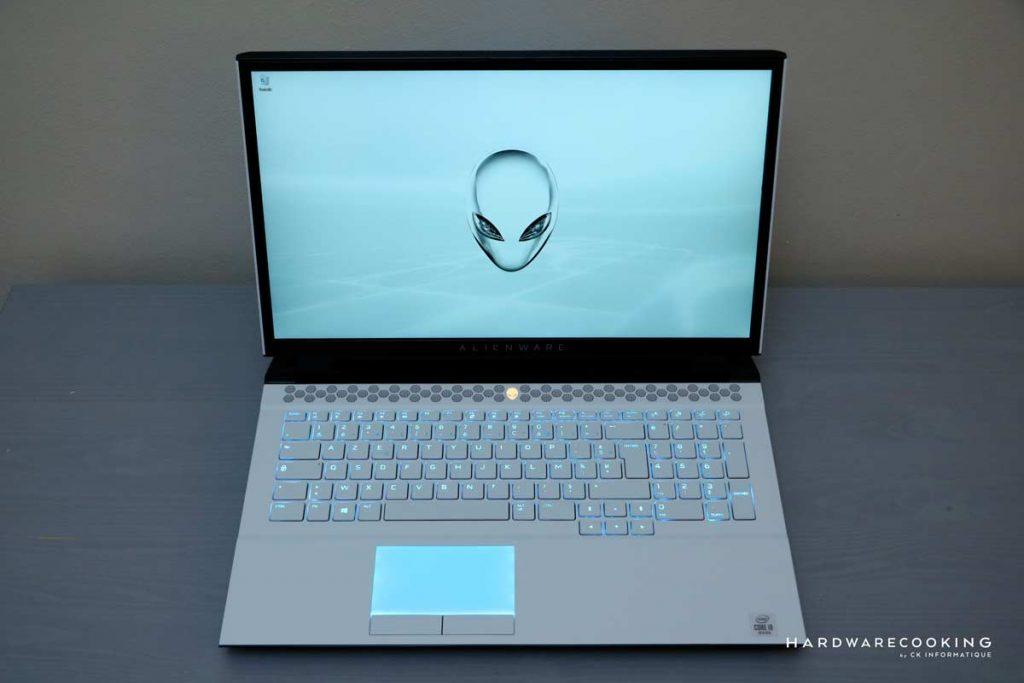 test Alienware Area-51M R2