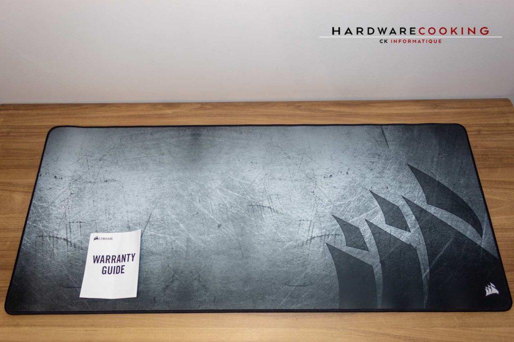 test CORSAIR MM350 PRO - Extended XL