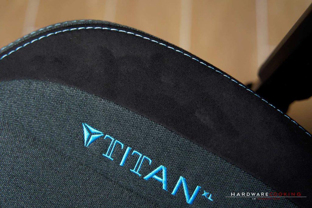 Test Secretlab Titan XL Charcoal Blue