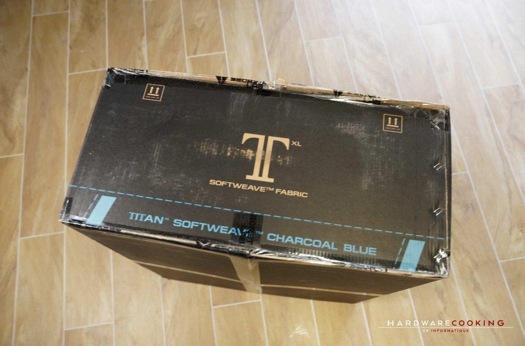 assemblage fauteuil Secretlab Titan XL