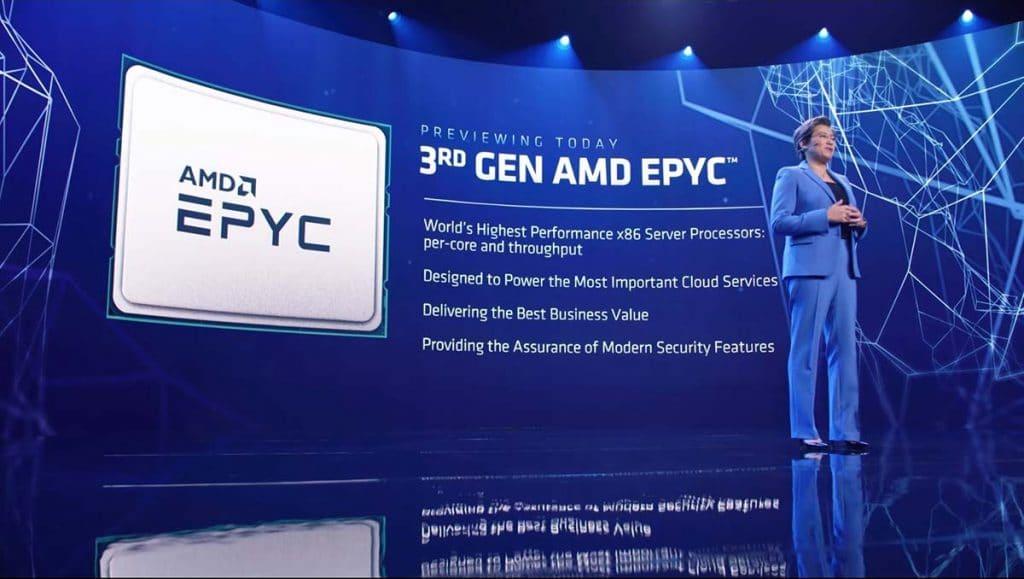 AMD Epyc 3rd génération