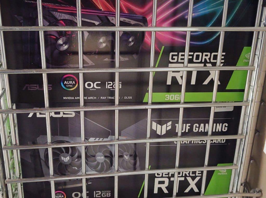 prix NVIDIA GeForce RTX 3060
