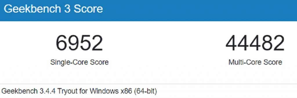 benchmark Geekbench 3 Intel Core i9-11900K