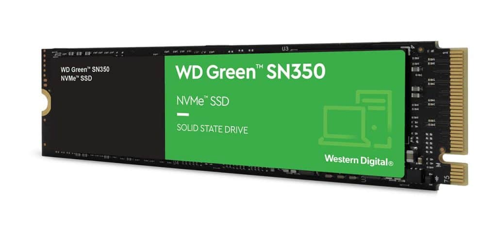 SSD Western Digital WD Green SN350 NVMe