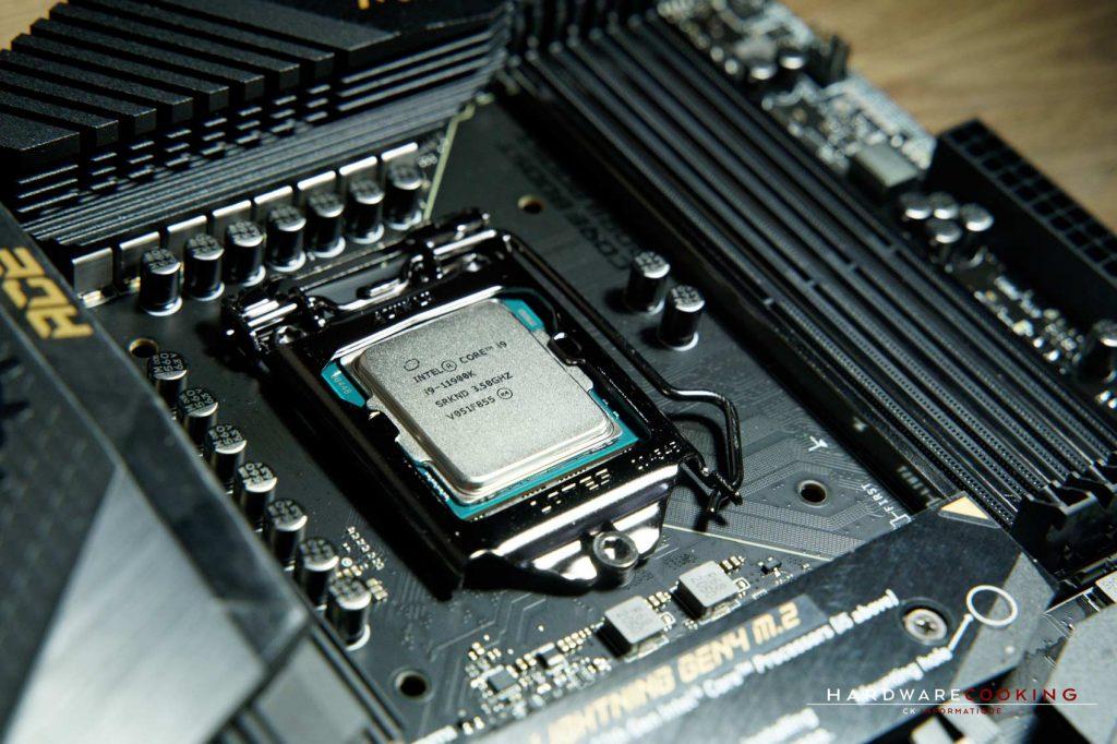 Test CPU Intel Core i9-11900K