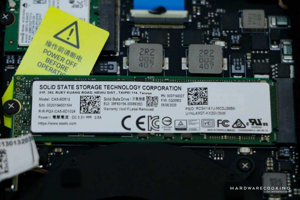 SSD Razer Blade Pro 17