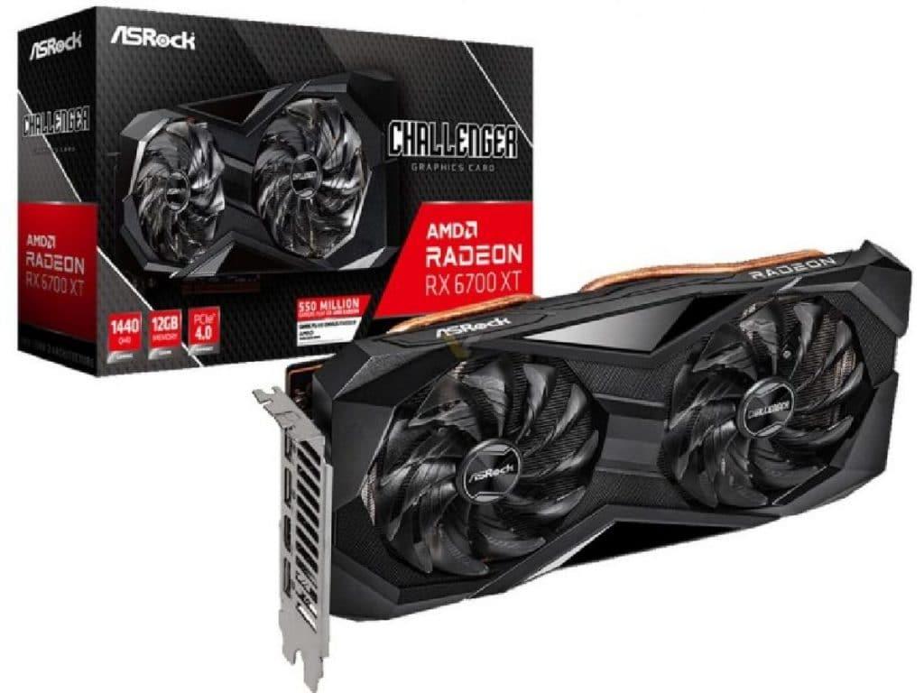 ASRock AMD Radeon RX 6700 XT Challenger D