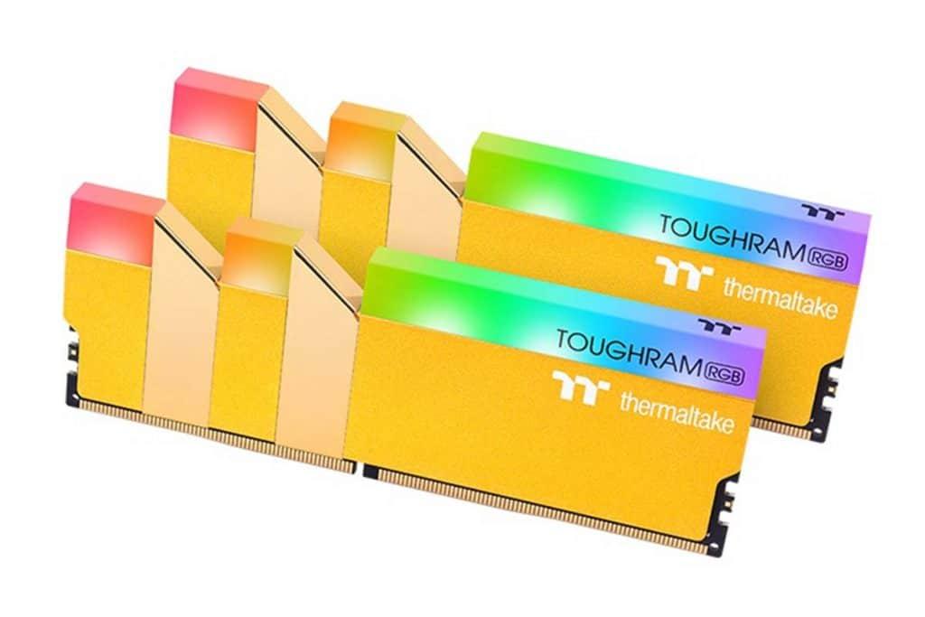 Thermaltake TOUGHRAM RGB Metallic Gold
