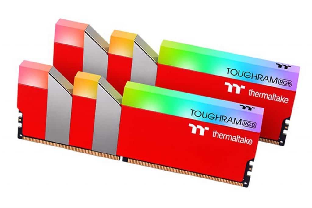 Thermaltake TOUGHRAM RGB Racing Red