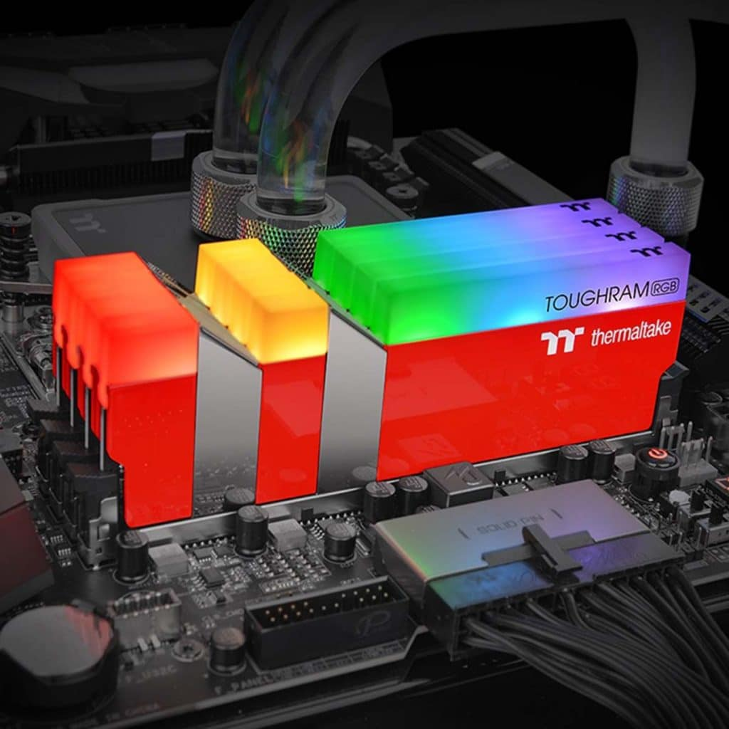 TOUGHRAM RGB Racing Red
