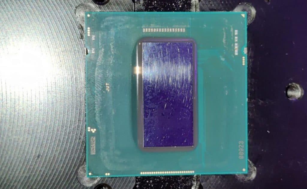 Die Intel Core i7-11700K