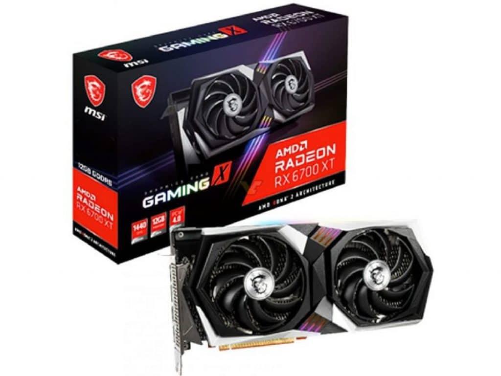 MSI Radeon RX 6700 XT GAMING