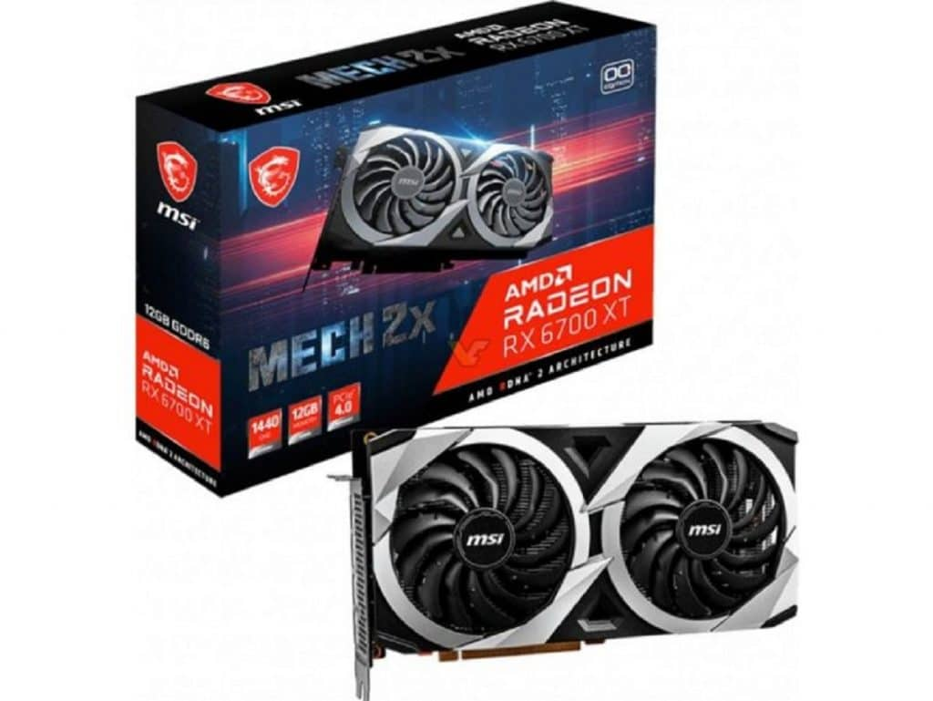 MSI Radeon RX 6700 XT MECH