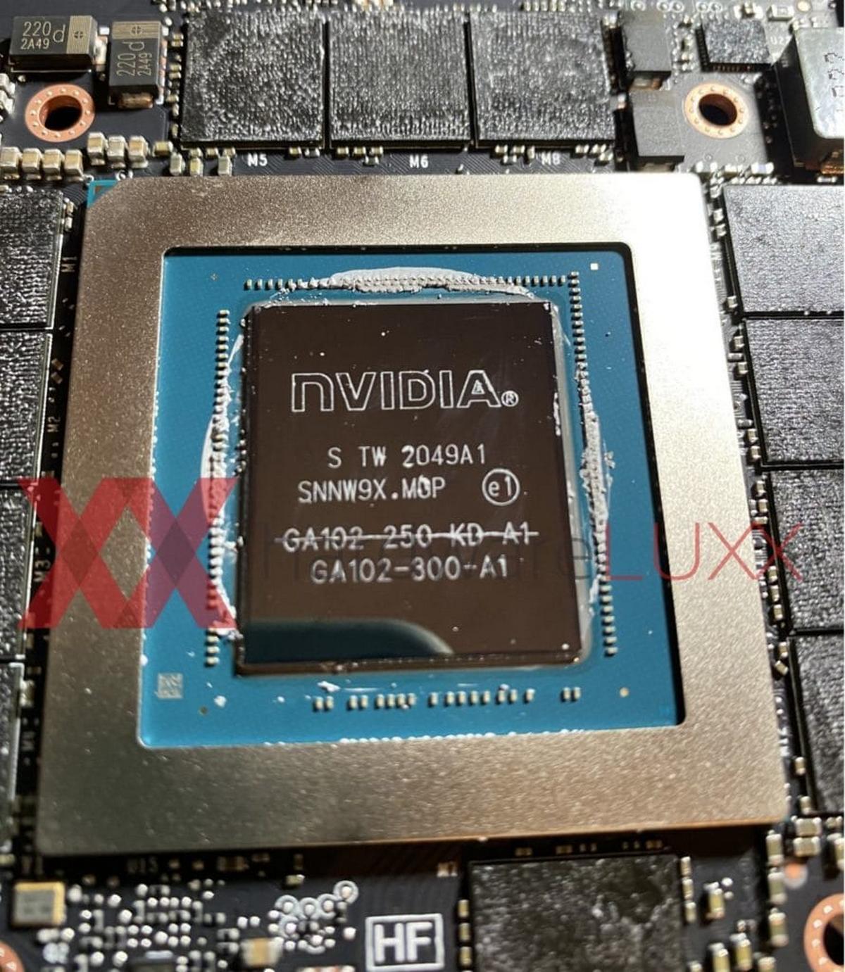 GPU GA102-250-KD-A1