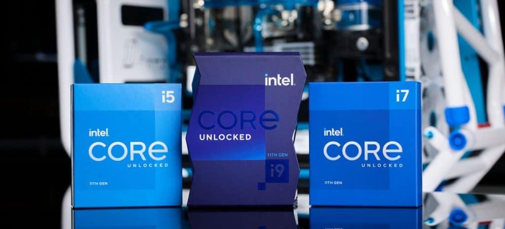 Processeurs Intel Core 11e génération Rocket Lake-S