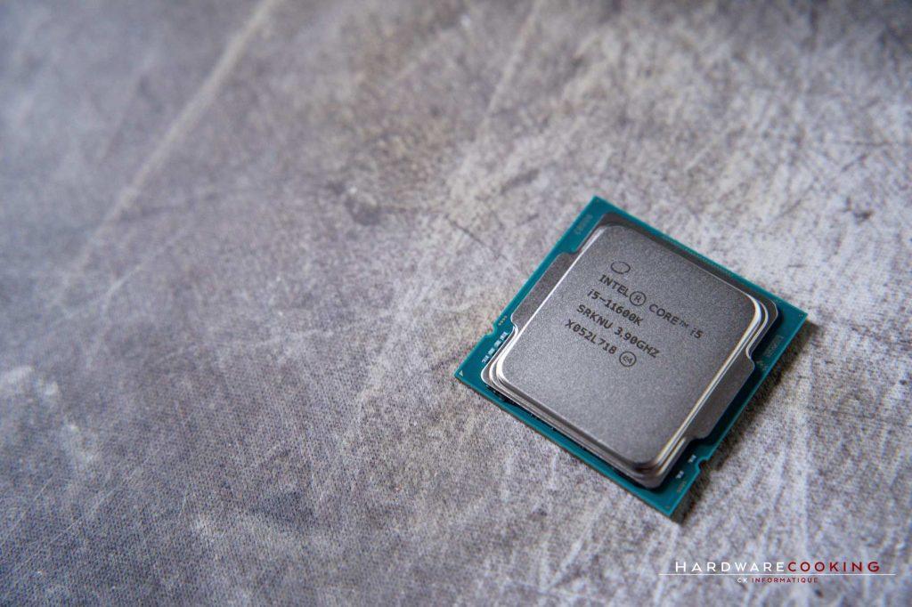 Test processeur Intel Core i5-11600K