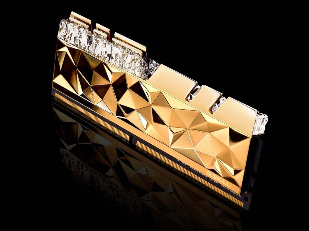 G.SKILL Trident Z Royal Elite Gold