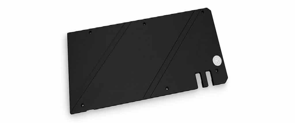EK-Quantum Vector TUF RX 6800/6900 Backplate - Noir