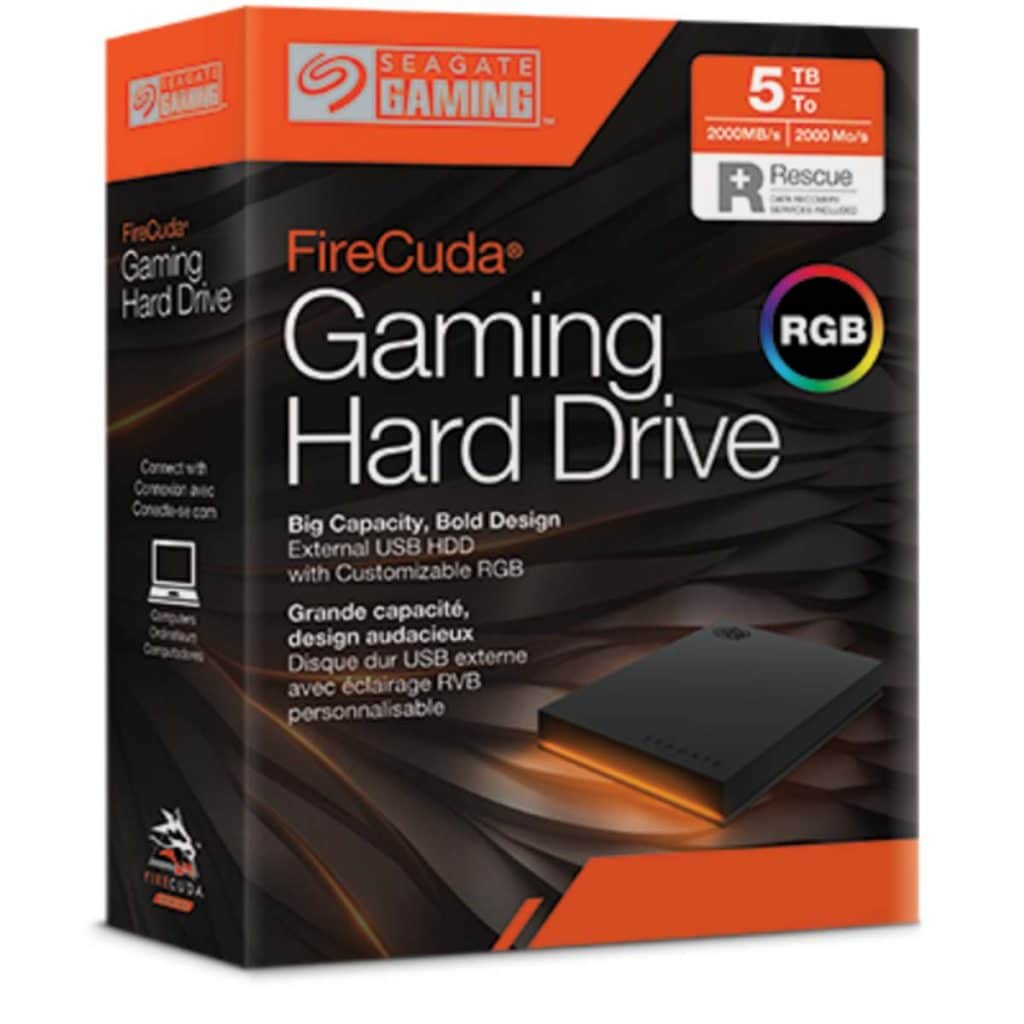 Boîte FireCuda Gaming Hard Drive