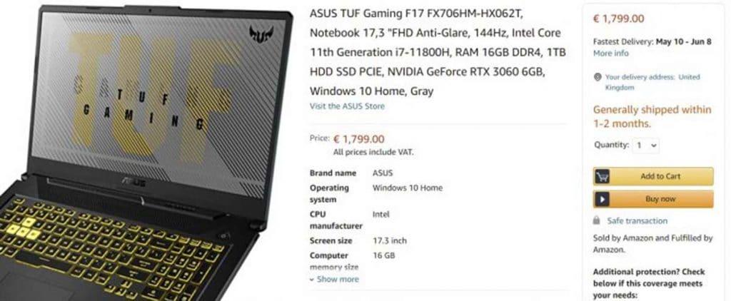 FX706 Amazon