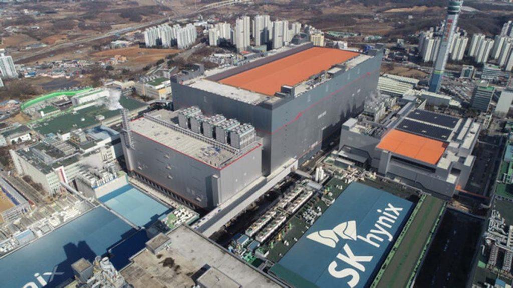 Usine Corée du Sud SK hynix Inc.