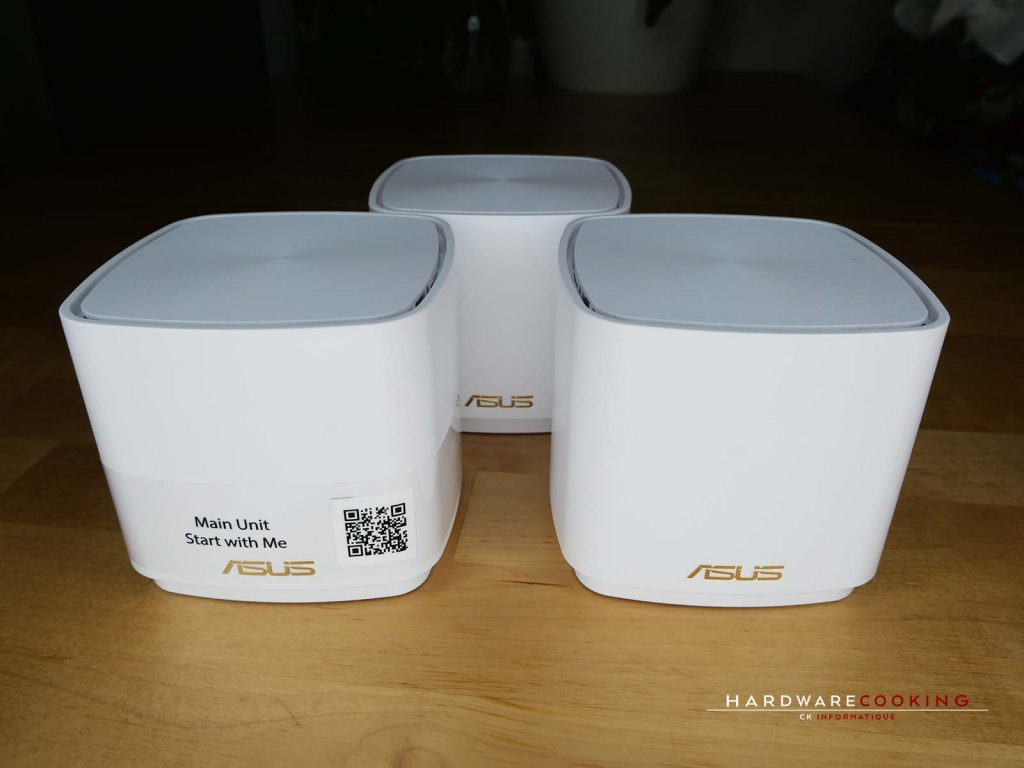 Test ASUS ZenWiFi AX Mini (XD4) kit complet