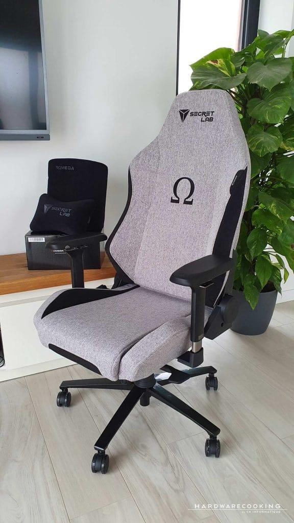 Test fauteuil Secretlab Omega