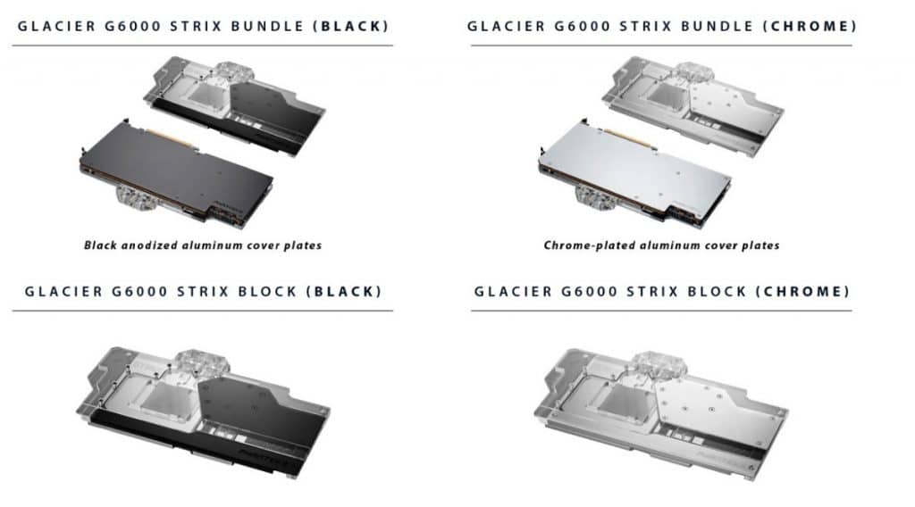 Waterblock Phanteks G6000 Strix
