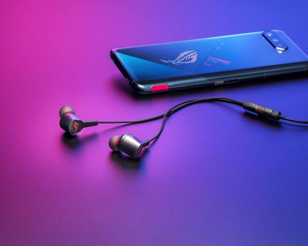 Ecouteurs + ROG Phone